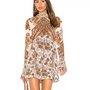 free People long sleeve Lucky tunic or mini dress